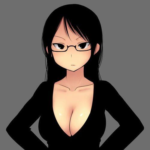 メガネっ子二次エロ画像