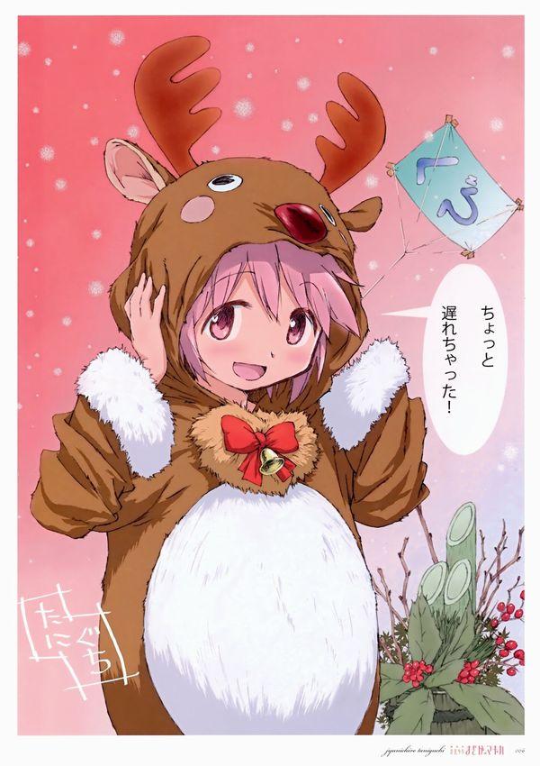 【クリスマスだから】トナカイコスプレしてる女の子の二次画像(サンタもあるよ)【1】