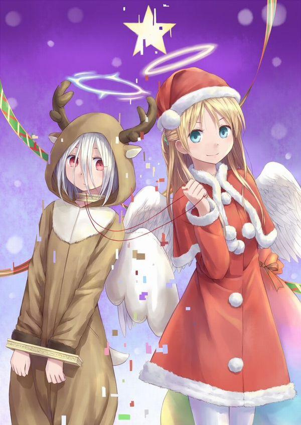【クリスマスだから】トナカイコスプレしてる女の子の二次画像(サンタもあるよ)【4】