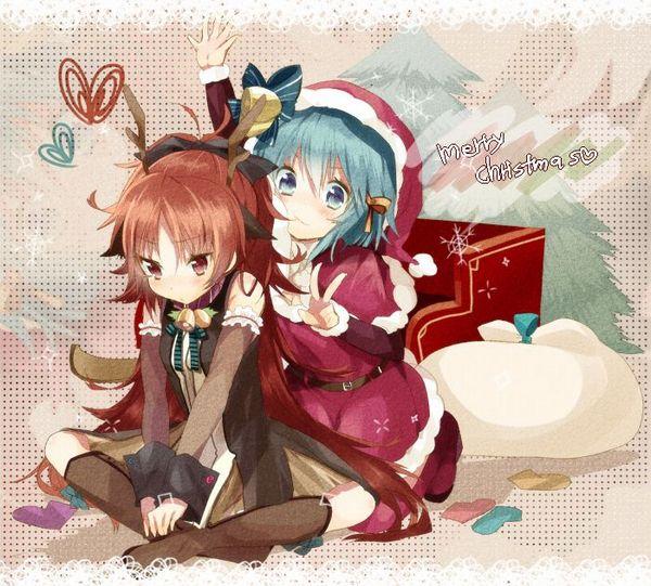 【クリスマスだから】トナカイコスプレしてる女の子の二次画像(サンタもあるよ)【21】