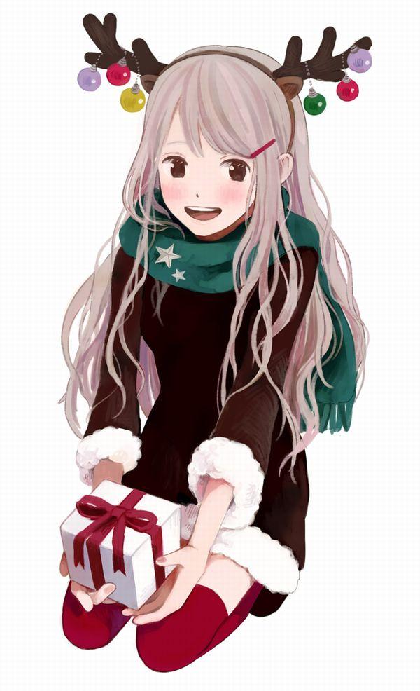 【クリスマスだから】トナカイコスプレしてる女の子の二次画像(サンタもあるよ)【23】