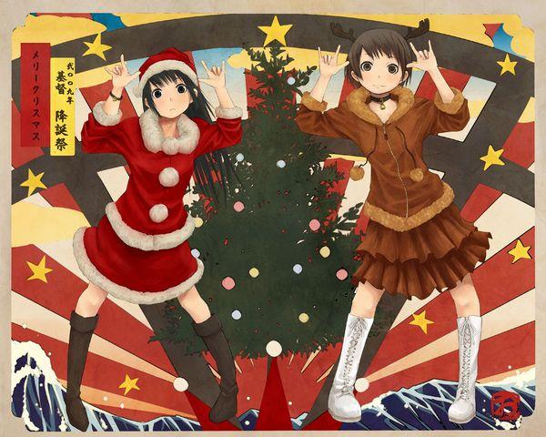 【クリスマスだから】トナカイコスプレしてる女の子の二次画像(サンタもあるよ)【27】