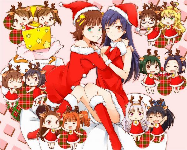 【クリスマスだから】トナカイコスプレしてる女の子の二次画像(サンタもあるよ)【47】