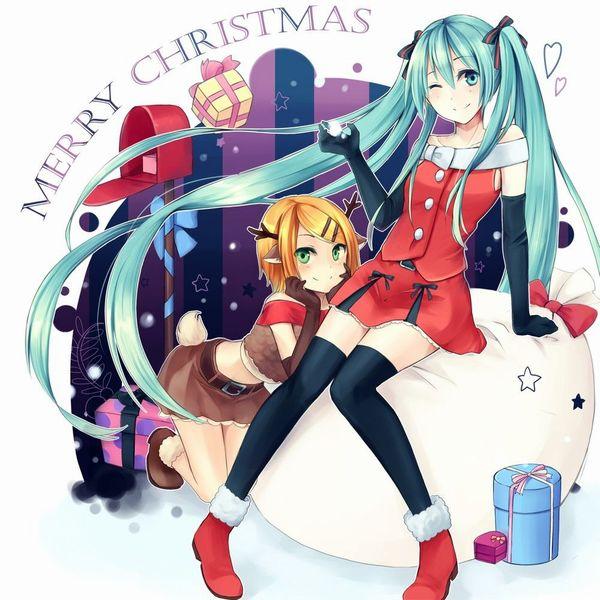 【クリスマスだから】トナカイコスプレしてる女の子の二次画像(サンタもあるよ)【48】