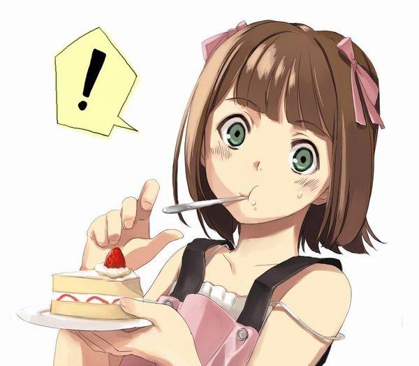【クリスマスだから】ケーキ食ってる子の二次画像【1】