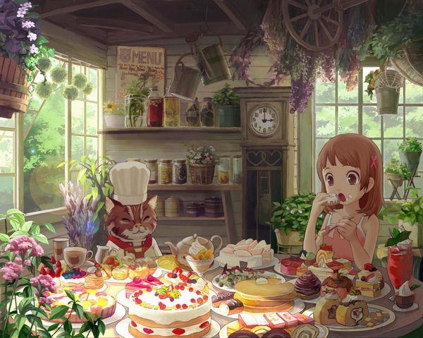 【クリスマスだから】ケーキ食ってる子の二次画像【8】