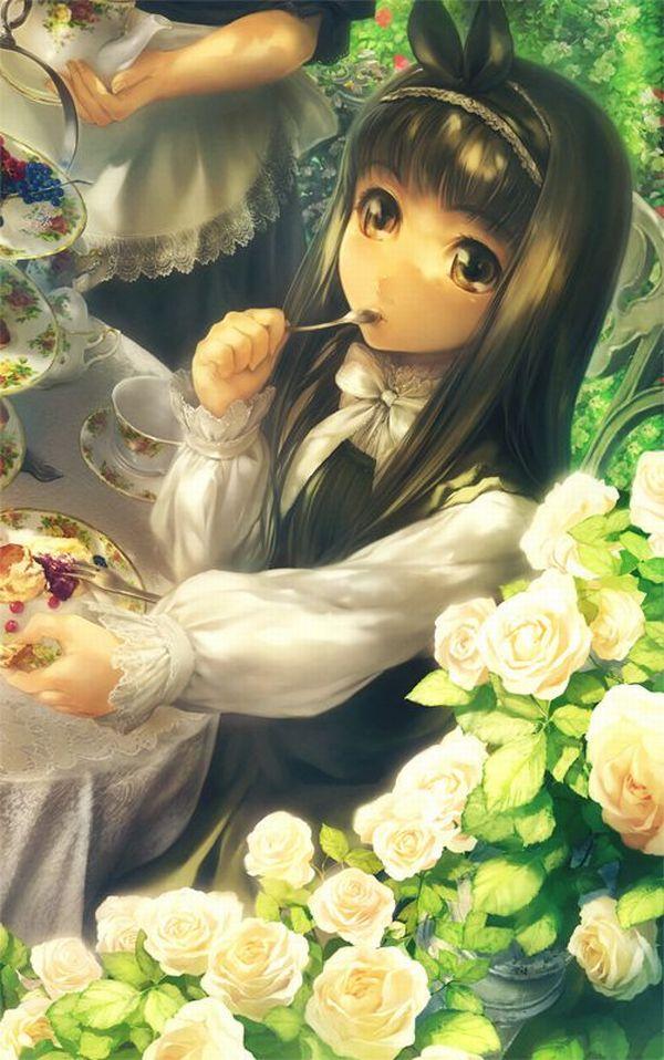 【クリスマスだから】ケーキ食ってる子の二次画像【10】