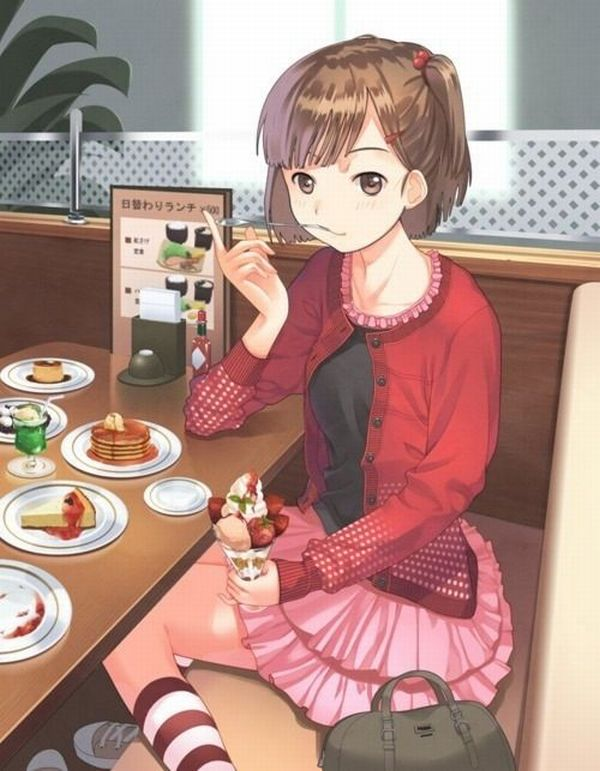 【クリスマスだから】ケーキ食ってる子の二次画像【13】