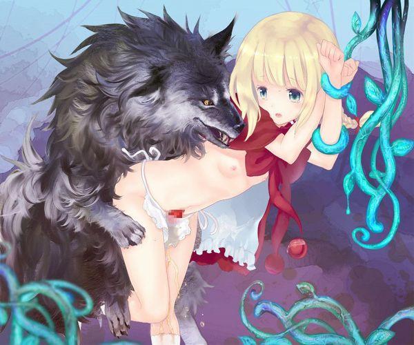 「犬好き(意味深)」な女の子達の二次エロ画像【10】