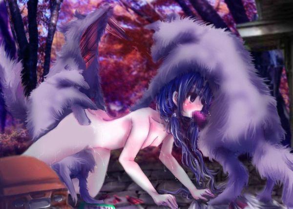 「犬好き(意味深)」な女の子達の二次エロ画像【28】