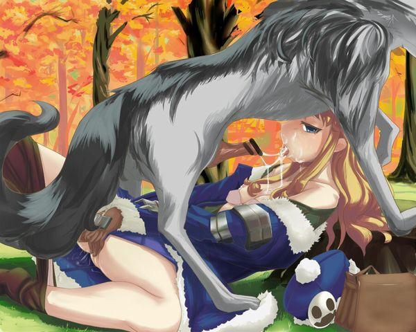 「犬好き(意味深)」な女の子達の二次エロ画像【39】