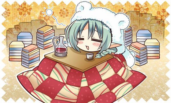 【大晦日だから】コタツでのんびりしてる女の子達の冬っぽい二次画像【7】