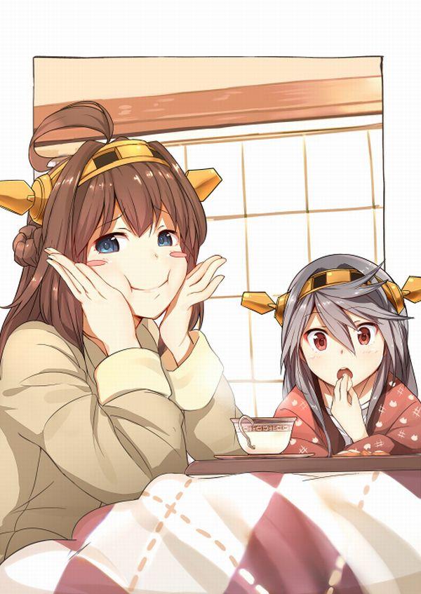 【大晦日だから】コタツでのんびりしてる女の子達の冬っぽい二次画像【36】