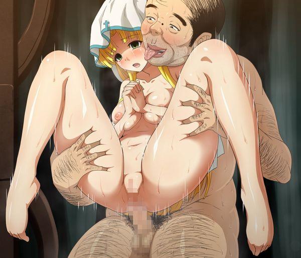 【臭そう】いかにも不潔そうな汚いおっさんに犯される二次エロ画像【7】