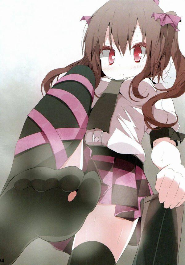【上級者向け】足が臭そうな女の子達の二次エロ画像【24】