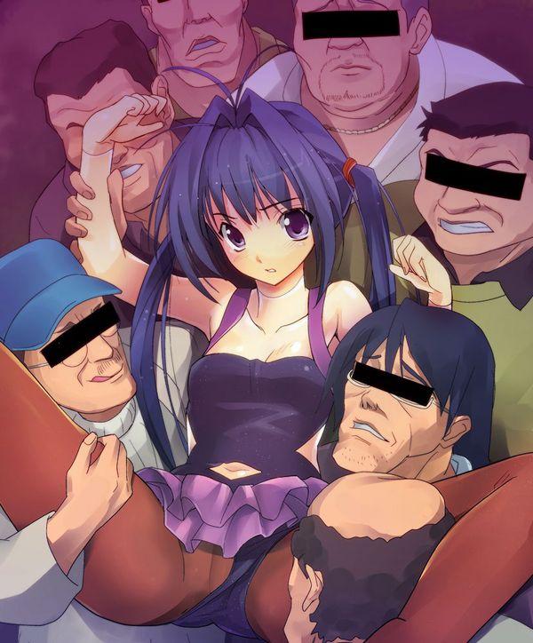 【キモ男】ホームレスとセックスしてる二次エロ画像【12】