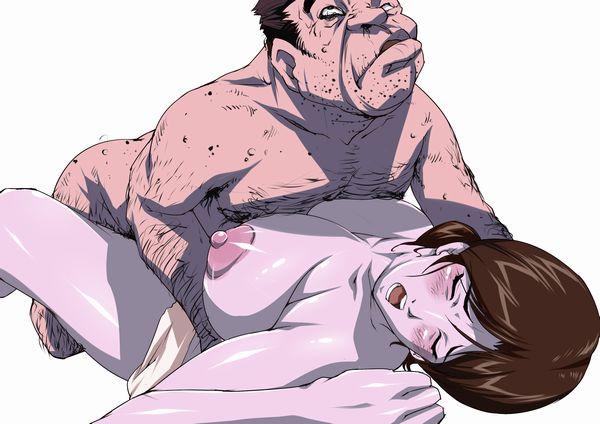 【キモ男】ホームレスとセックスしてる二次エロ画像【20】