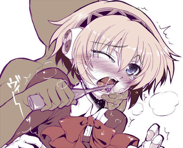 ウンコ漏らしてる女の子達の二次エロ画像【44】
