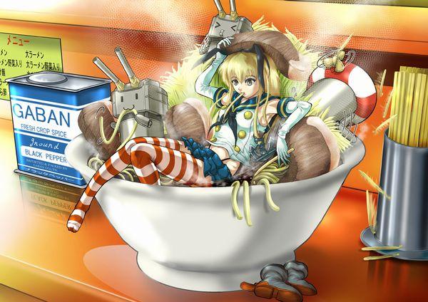 【二次】女の子がラーメン二郎食ってる画像【全マシマシ】【12】