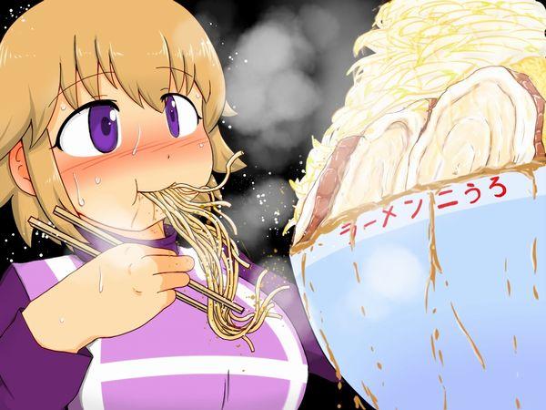【二次】女の子がラーメン二郎食ってる画像【全マシマシ】【23】