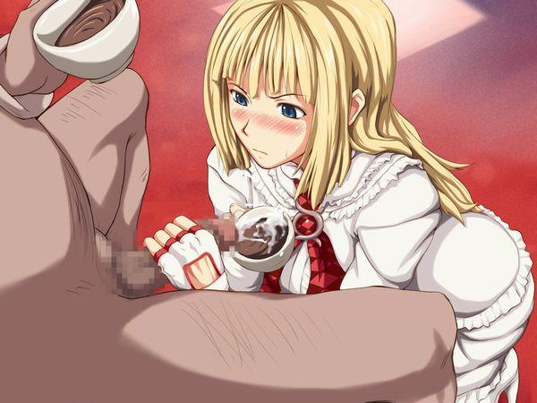 【食ザー】スタバ感覚でザーメンを飲んでる女子達の二次エロ画像