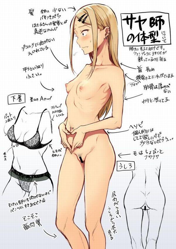 【だがしかし】遠藤サヤちゃんの二次エロ画像【18】