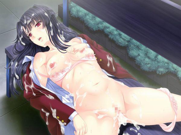 【二次】つるぺた貧乳が絶妙にマッチするスク水エロ画像【22】
