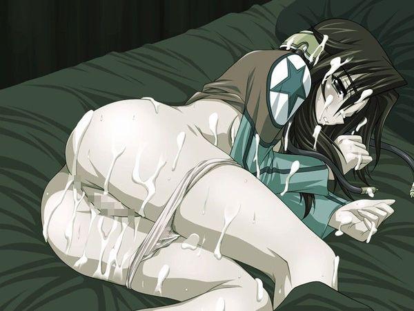 【二次】つるぺた貧乳が絶妙にマッチするスク水エロ画像【26】