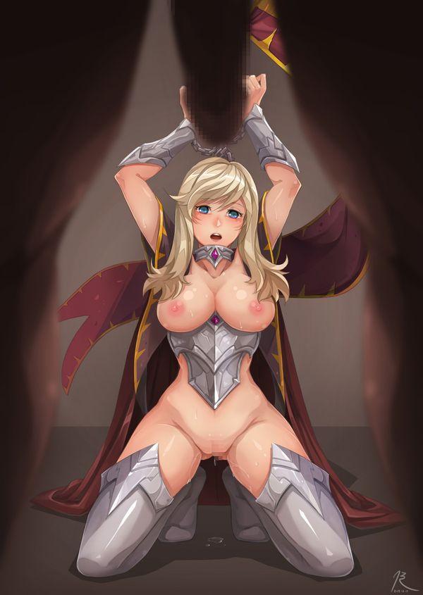 【くっころ】囚われの女騎士・女戦士・女剣士みたいなシチュの二次エロ画像【7】