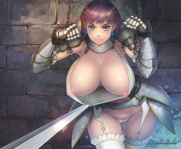 【くっころ】囚われの女騎士・女戦士・女剣士みたいなシチュの二次エロ画像【12】
