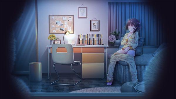 【家族には内緒】自室でこっそりオナニーしてる二次エロ画像【30】