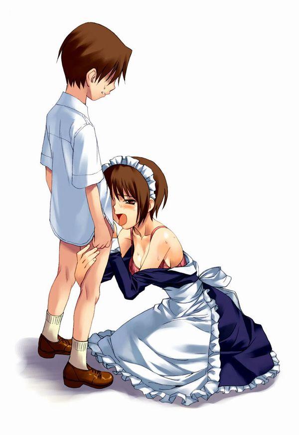 【これも仕事のうち】ご主人様の性処理をさせられるメイドの二次エロ画像【12】