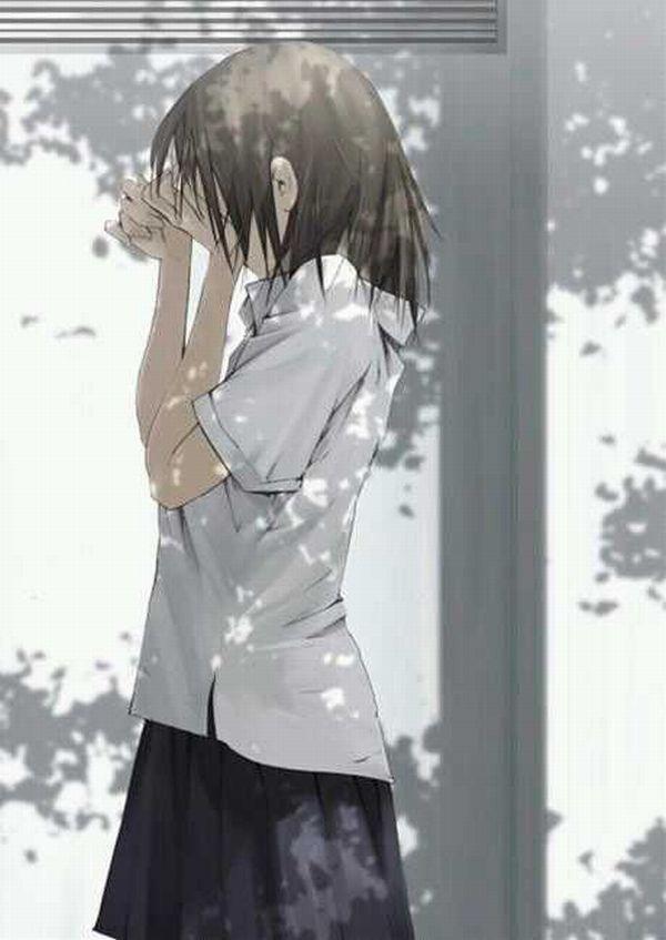 【どうしたの?】泣いてる女の子の二次画像【16】