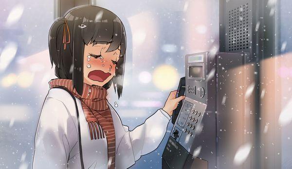 【どうしたの?】泣いてる女の子の二次画像【44】