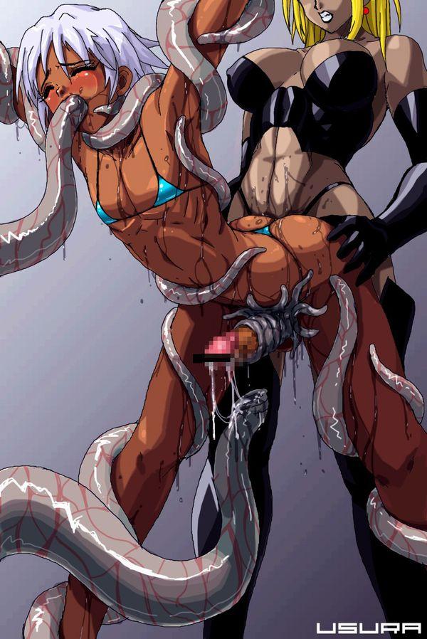 【ゲソがちんこに絡みつく】男が触手責めされてる上級者向けの二次エロ画像【16】