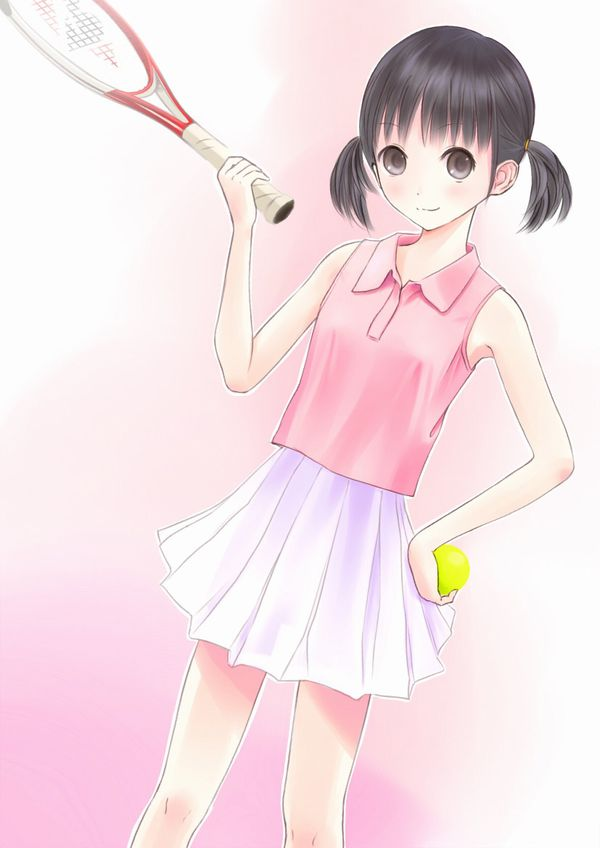 【お約束】ペニスが思わず反応するテニス美少女の二次画像【17】