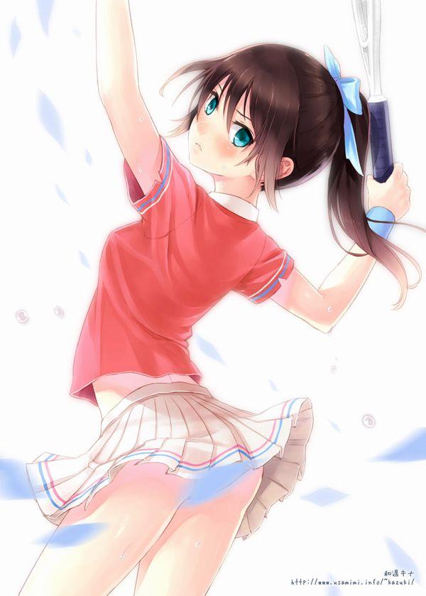 【お約束】ペニスが思わず反応するテニス美少女の二次画像【35】