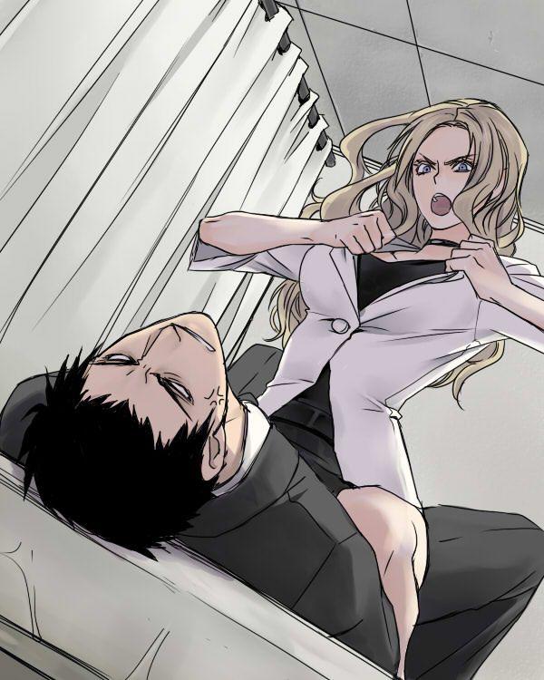 【暗殺教室】ビッチ先生ことイリーナ・イェラビッチの二次エロ画像【1】