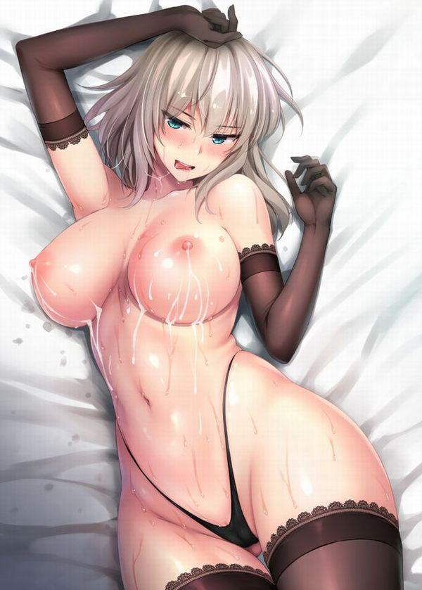 【二次】仰向けで寝転がってる女子達のおっぱいを堪能出来るエロ画像【25】