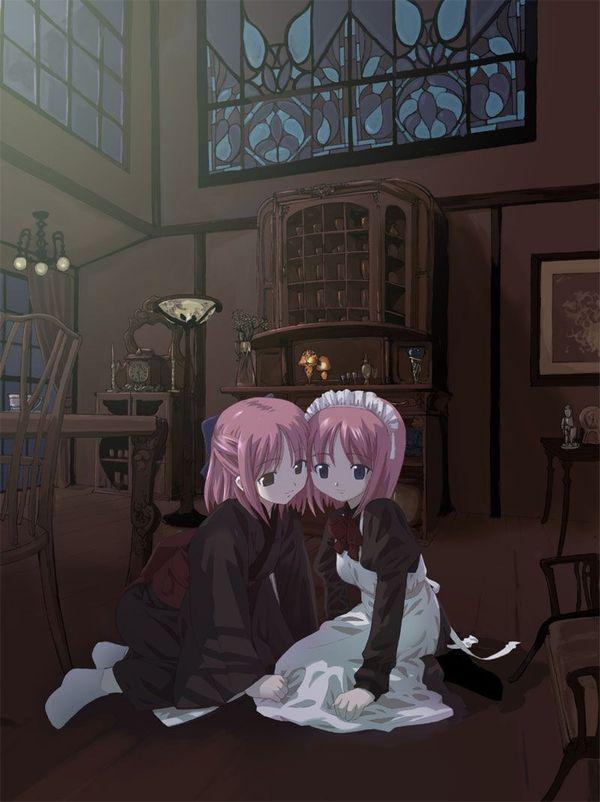【二次】僕のソーセージが大きくなっちゃう双子のエロ画像【6】