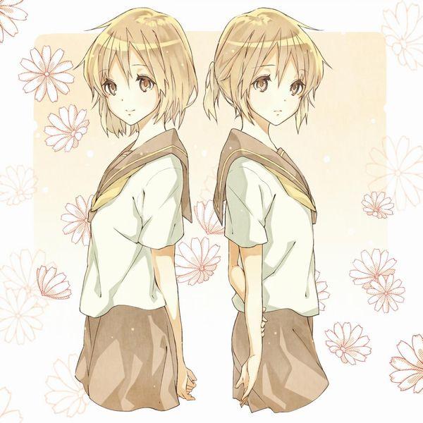 【二次】僕のソーセージが大きくなっちゃう双子のエロ画像【27】