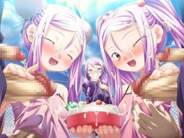 【二次】僕のソーセージが大きくなっちゃう双子のエロ画像【33】