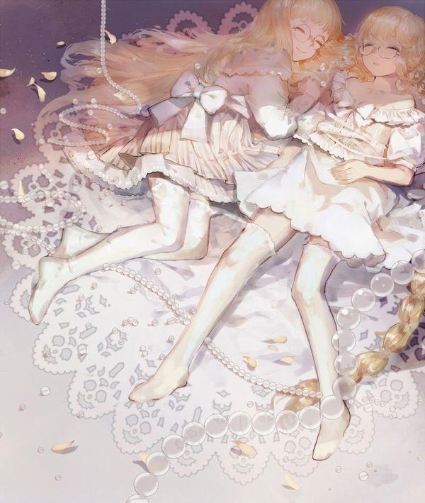 【二次】僕のソーセージが大きくなっちゃう双子のエロ画像【37】