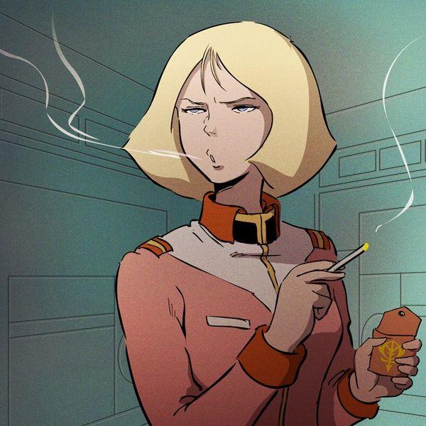 タバコが似合う女子限定!な喫煙二次画像【24】