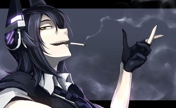 タバコが似合う女子限定!な喫煙二次画像【27】
