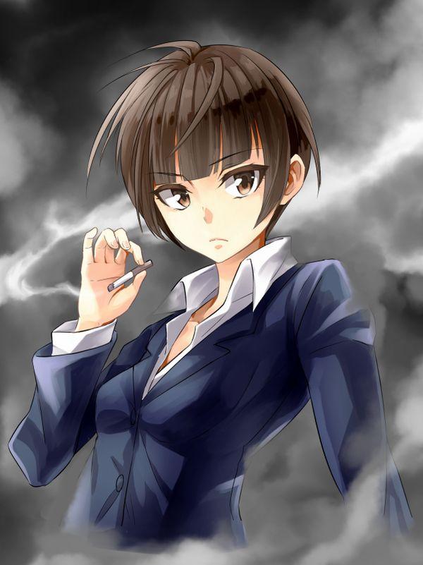 タバコが似合う女子限定!な喫煙二次画像【32】