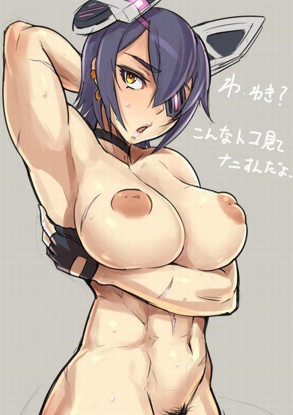 【強そう】タイマン張ったら余裕で負けそうな筋肉女子の二次エロ画像【4】
