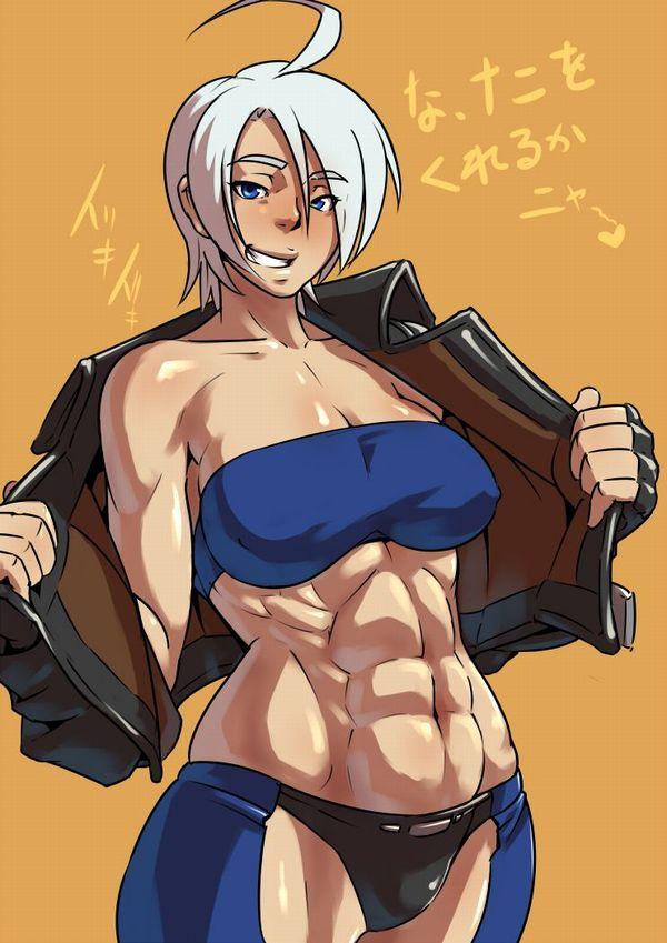【強そう】タイマン張ったら余裕で負けそうな筋肉女子の二次エロ画像【25】