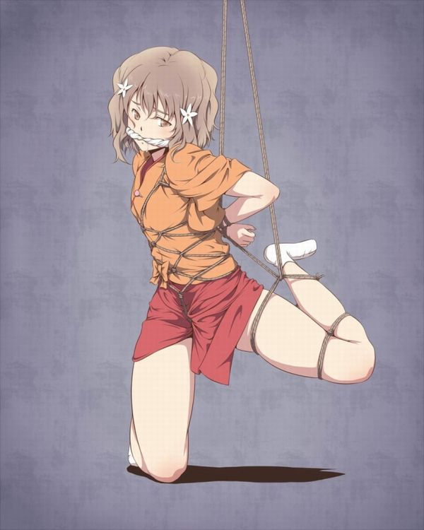 【SM】亀甲縛りされてる女子たちの二次エロ画像【緊縛】【31】