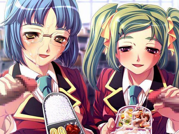 【食ザー】ザーメンぶっかけた食べ物を美味しそうに食べてる二次画像【8】